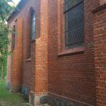 Stan prac przy kościele w Ciekocinie
