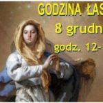 GODZINA  ŁASKI DLA ŚWIATA 8 GRUDNIA 12.00 – 13.00